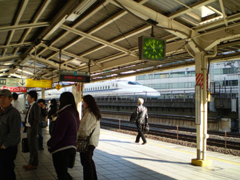 新幹線最後尾