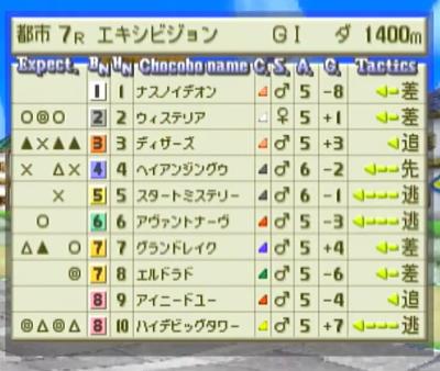 古代種記念予選1-1