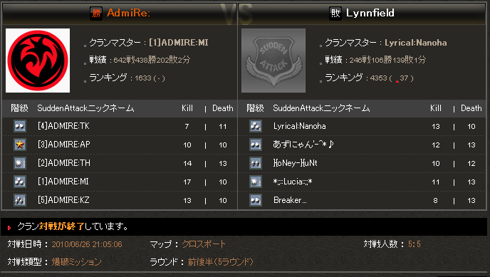SAomt4 2回戦