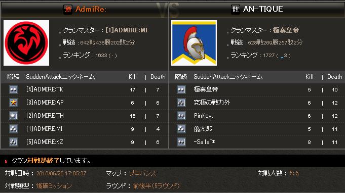 SAomt4 1回戦