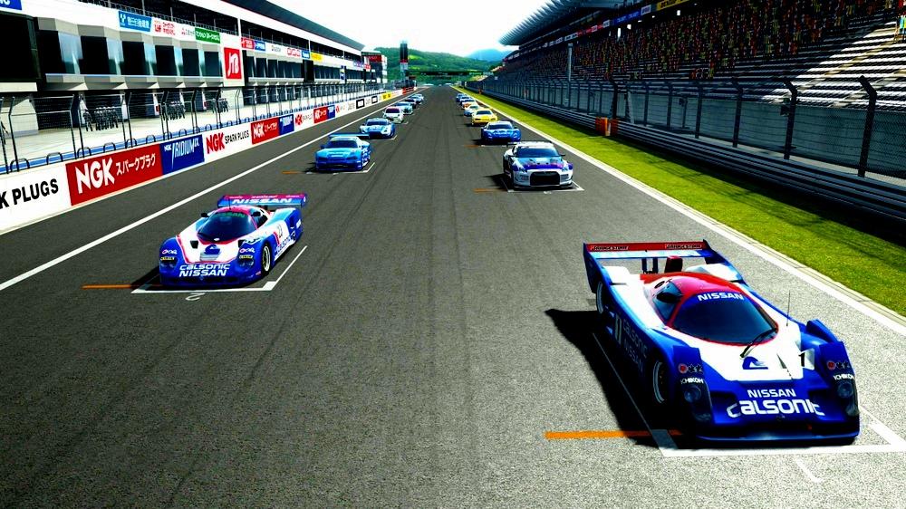 レースカーパレード1