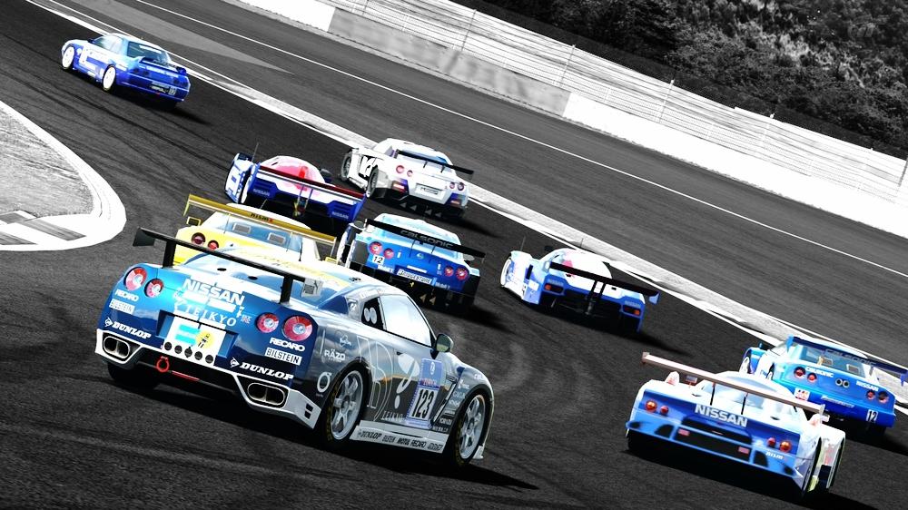 レースカーパレード12