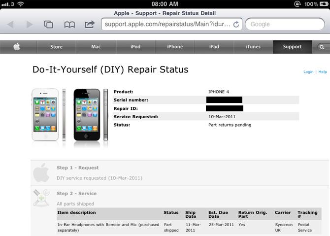 iPhone4白