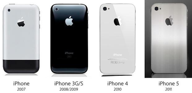 iPhone5デザイン