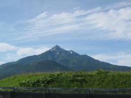 山がきれいなの
