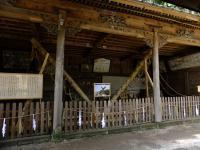 諏訪大社本宮「メド梃子」