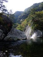 昇仙峡・仙娥滝上