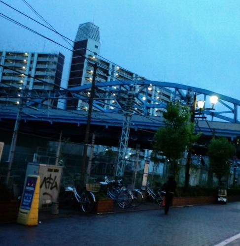 蒲田の街並