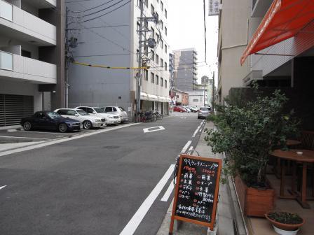 店の前の道2