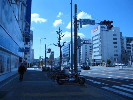 飯田街道から1