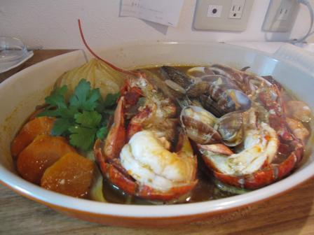 bouillabaise avec homard