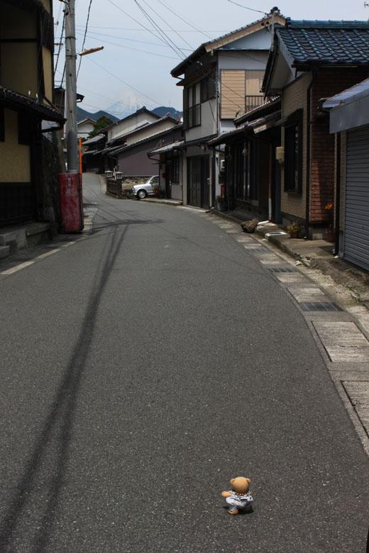 富士山と旧東海道