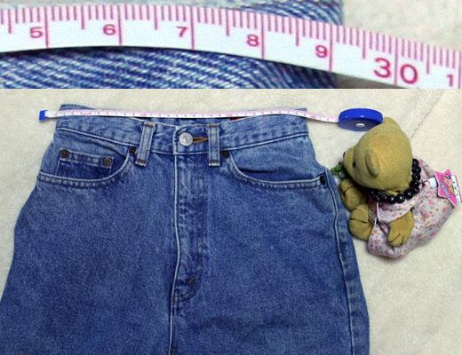 BOBSONウエストサイズを測る