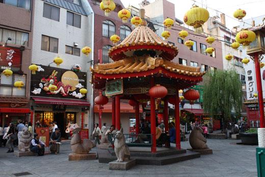 南京町・広場