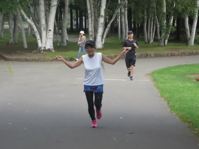 サンキューマラソン、うぶちゃん