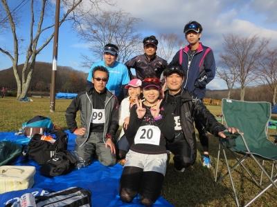 苫小牧フルマラソン集合写真