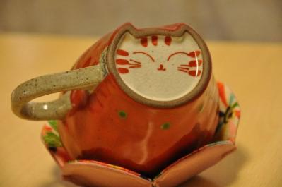 04  猫カップ 底