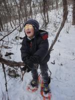 雪の森の探検隊3