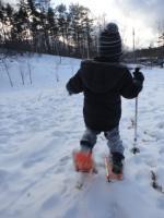 雪の森の探検隊12