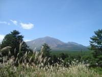 秋 浅間山
