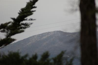 冠雪の天城山系