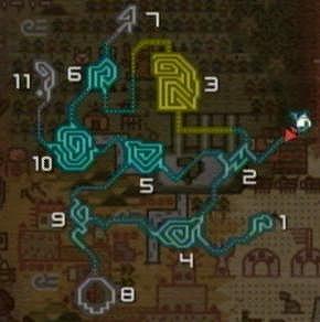 沼地・マップ