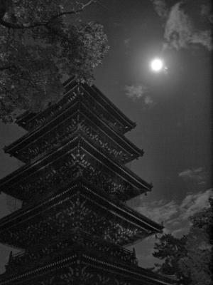 善通寺とお月様-1