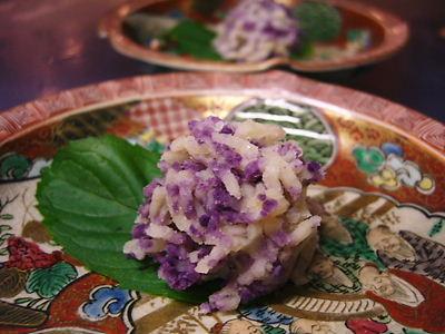 創作和菓子【紫陽花】