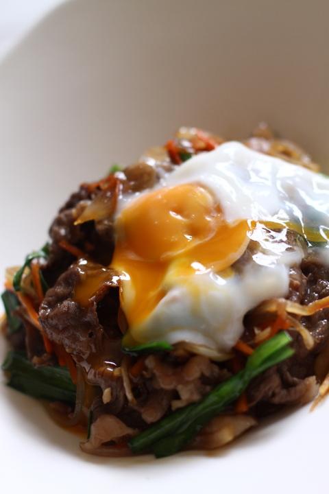 韓国風すきやき丼