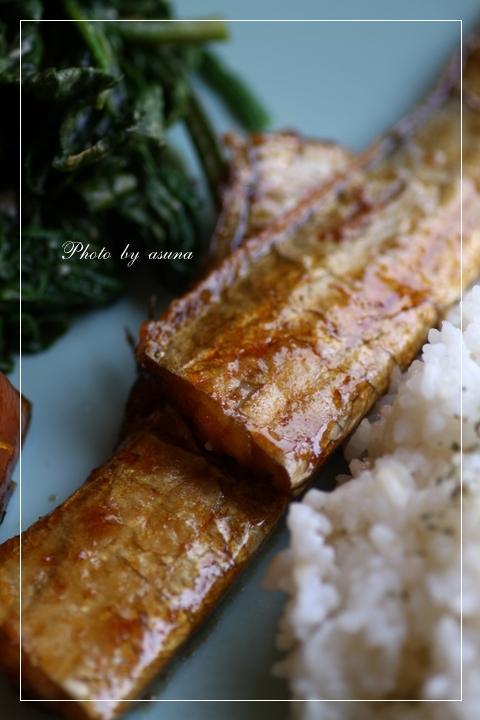太刀魚のバター醤油焼き