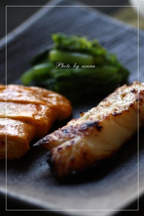 鱈の塩麹漬けと肉豆腐