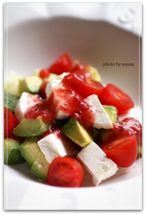 アボカド&ヨーグルトのサラダ