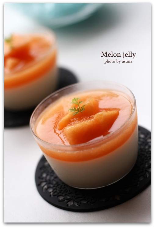 Melon jelly