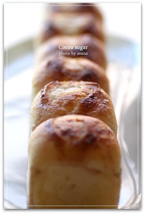 カカオシュガーのちぎりパン
