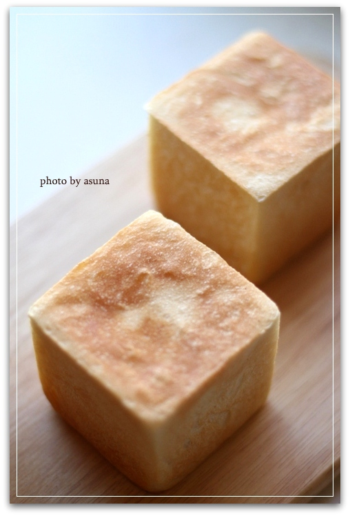 キューブ型食パン