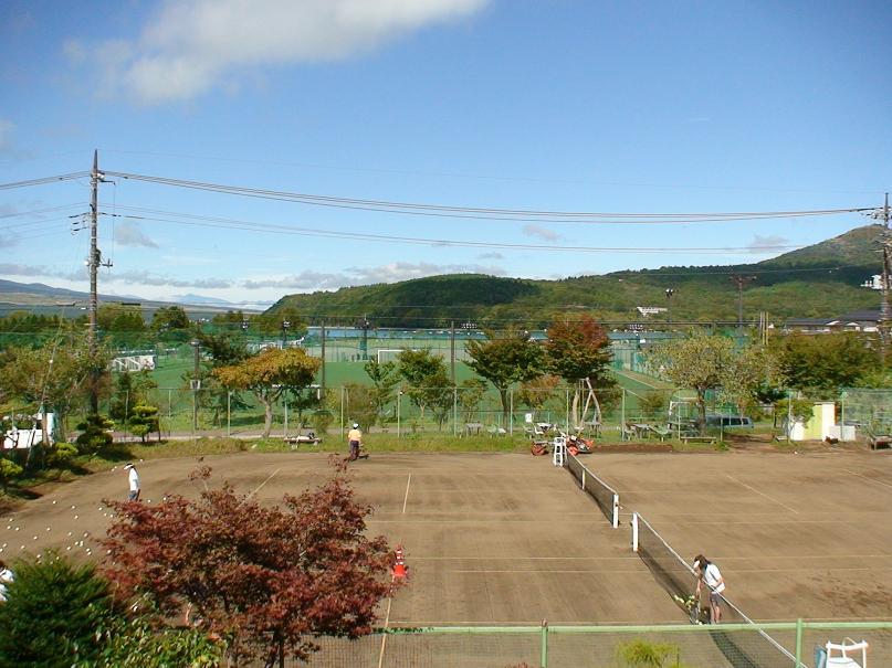 山中湖村のテニスコート・レンタル貸しグラウンド.