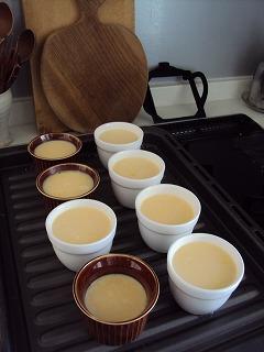 茶碗蒸しのようなプリン…