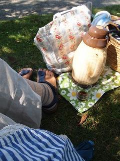 ピクニック好き。