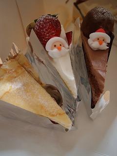 美味しかった!今年のクリスマスケーキ