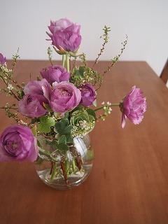 花を替えました。