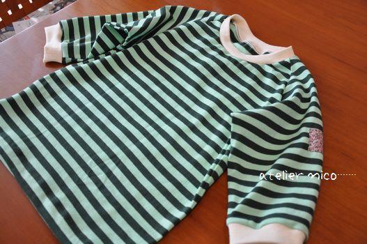 7部袖Tシャツ