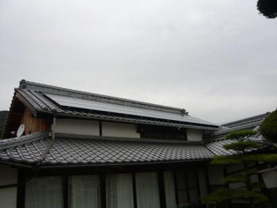 27 SANYO 太陽光ソーラー発電システム 5.04KW(瀬戸田町)