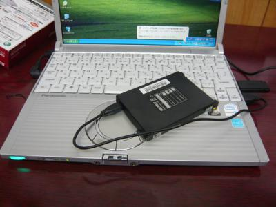 Panasonic T5 SSD 換装 03