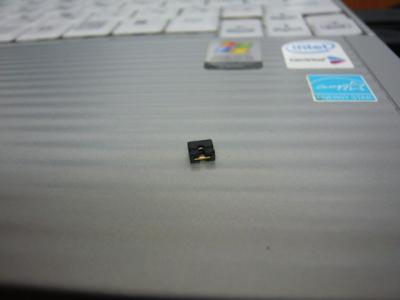 Panasonic T5 SSD 換装 04