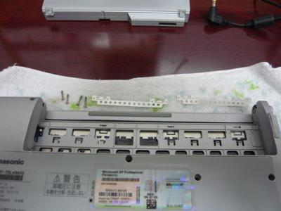 Panasonic T5 SSD 換装 14