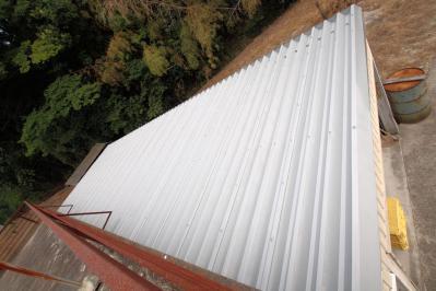 001 生口島 K様邸 省エネ節電 遮熱塗料(ECO-COOL)使用 屋根塗装工事 べんりMAN 15