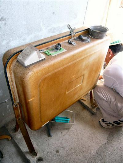 オール電化 Y様邸  灯油タンク