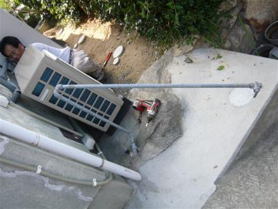 ガス管撤去1