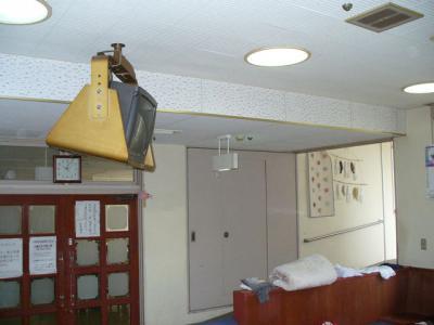 プラズマ天井吊り下げ工事 12