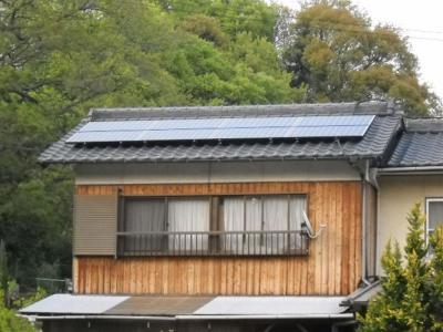30 T様邸 SANYO HIT 太陽光ソーラー発電 3.36Kw
